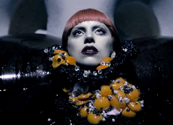 lady gaga fragrance commercial StyleCaster Top 10: Gaga Disses Horyn, Lochte Dines With Vogue, More