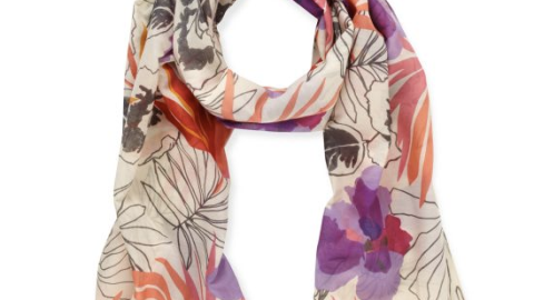 Want: Kate Spade Printed Scarf (on Sale!) | StyleCaster