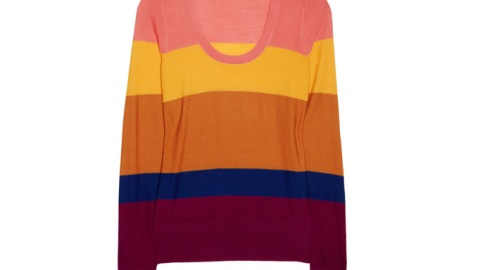 Want: Sonia by Sonia Rykiel Color-Block Sweater | StyleCaster