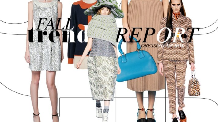 Fall Trend Report: Dress-Up Box Attire