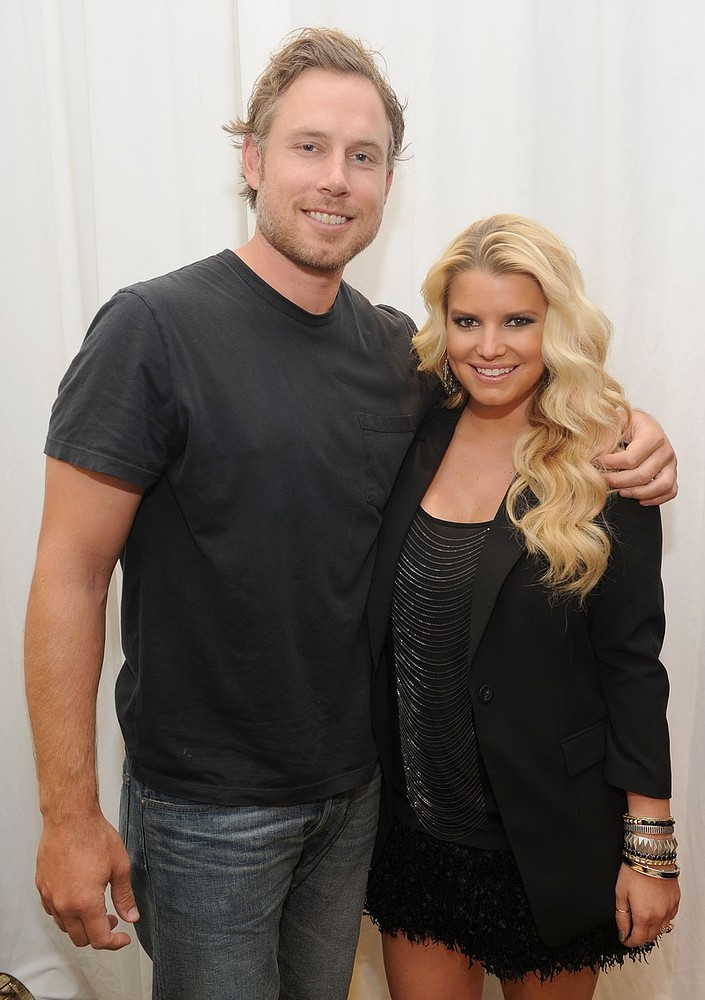 FILE:  Jessica Simpson And Eric Johnson Give Birth To Baby Girl