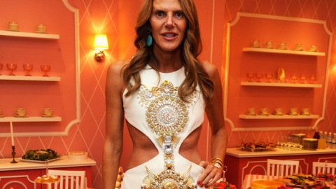Anna Dello Russo on New H&M Collection, Planning NYFW Outfits Six Months in Advance | StyleCaster