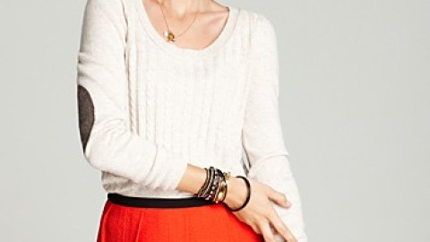 Want: Aqua Cashmere Sweater   StyleCaster