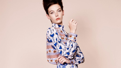 Spring 2013 Trend Flash: Blue and White Prints | StyleCaster