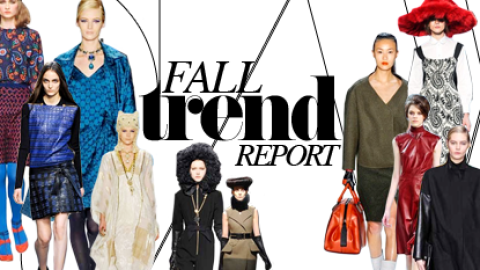 Fall 2012 Trend Guide: 17 Key Looks to Guide Your Season | StyleCaster