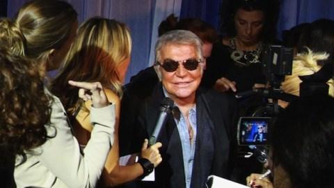 Giorgio Armani Bites Back at Roberto Cavalli's Nasty Blog In Fashion's New Feud | StyleCaster