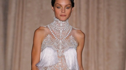 All the Looks: Marchesa Goes to India for Spring 2013   StyleCaster