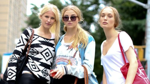 Models Off-Duty: 80 Shots Of Catwalk Queens Showing Off Their Personal Style | StyleCaster