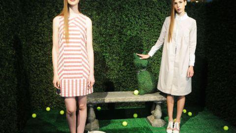 Rachel Antonoff Spring 2013: Lena Dunham, Versailles Gardens, and Jellies | StyleCaster