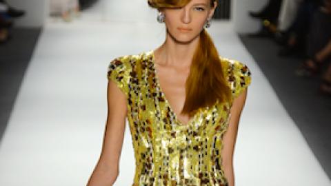 All the Looks: Jenny Packham Spring 2013   StyleCaster