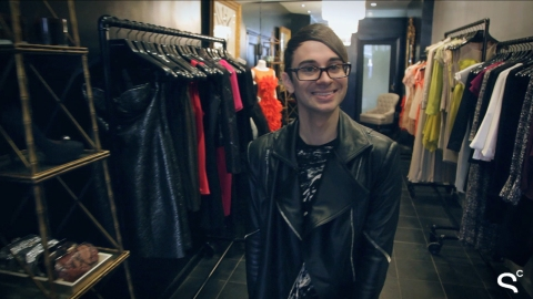 Exclusive: Designer Christian Siriano Gives Us a Tour Of His New Nolita Store | StyleCaster