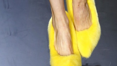Fabulous or Ridiculous: The Fuzzy Mink Shoes At Céline   StyleCaster