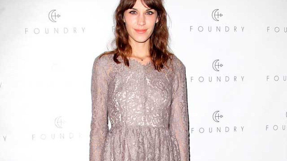 Alexa Chung Never Gets On a Plane Without Her Denim Hot Pants | StyleCaster