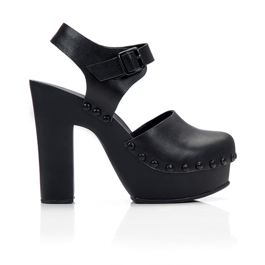 clog3 Want: Loeffler Randall Platform Leather Clog