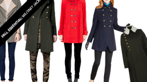 Fall Essential: Military Coats To Keep Your Style In Tip-Top Shape | StyleCaster