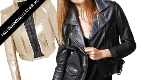 Fall Essential: The Leather Jacket | StyleCaster