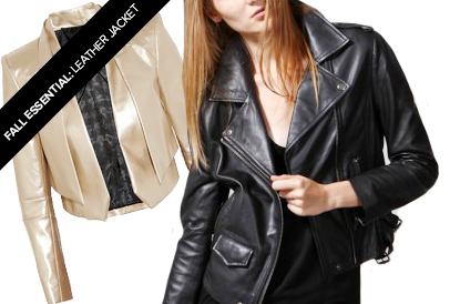 Fall Essential: The Leather Jacket