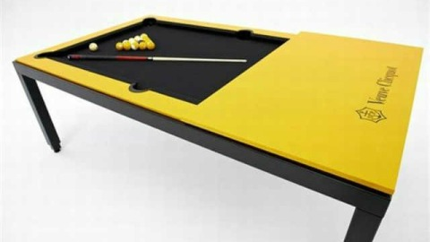 The A-List: The Champagne Pool Table | StyleCaster