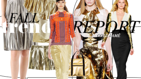 Fall Trend Report: Everyday Lamé   StyleCaster