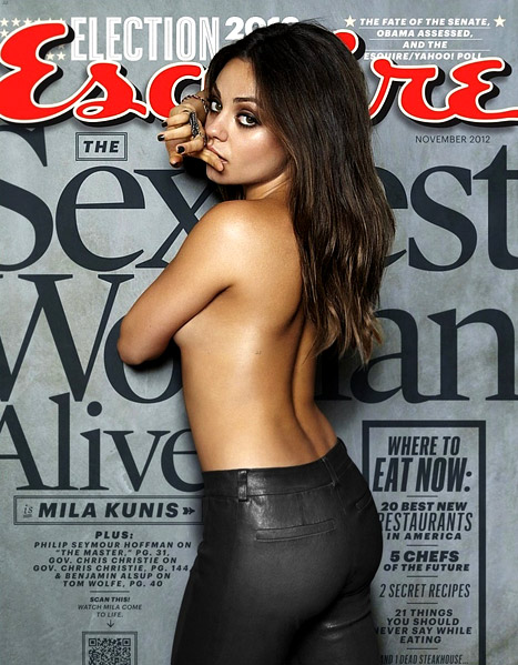 mila Mila Kunis Named Esquires Sexiest Woman Alive