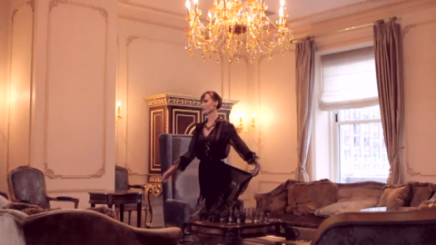 Watch Street Style Stars Elena Perminova & Miroslava Duma Frolic In Ferragamo's New Fashion Film | StyleCaster
