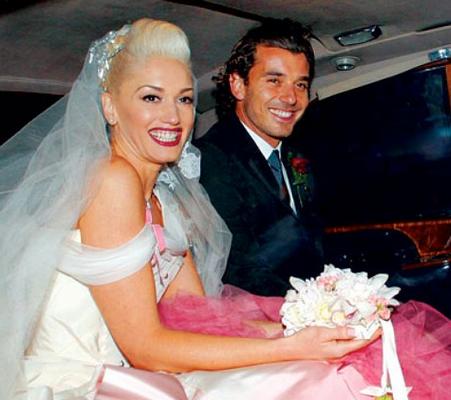 10 Celebrity Brides Who Didn't Wear White