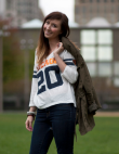 Style Coach: Fashion Blogger Monica Dimperio Shows Us Her Local Chicago Bears...