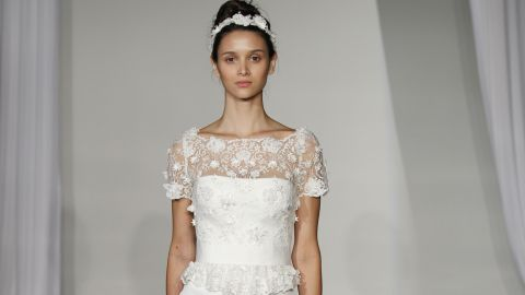 See All The Gorgeous Looks From Marchesa's Fall 2013 Bridal Collection | StyleCaster