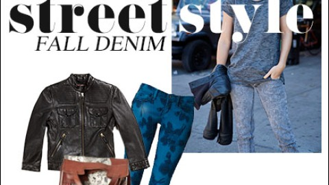 Denim Street Style Highlights And How To Get The Look For Fall   StyleCaster