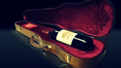 The Holiday A-List: Rare Wine Packaged in a Stradivarius Case | StyleCaster