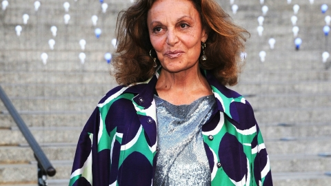 What Inspired Diane von Furstenberg's Iconic Wrap Dress   StyleCaster
