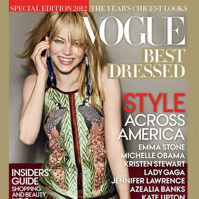 emma1 StyleCaster Top 10: Emma Stone Covers Vogues Best Dressed Issue, Shopbop to Launch Menswear, More