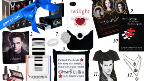 """Holiday Gifting 2012: 15 Finds For The Die-Hard """"Twilight"""" Lover in Your Life 