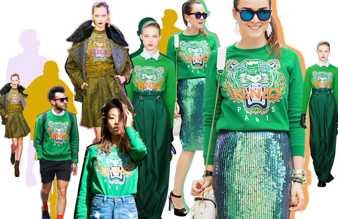 kenzo slideshow Anatomy of a Fad: How Kenzos Tiger Sweater Sold Out in Two Days