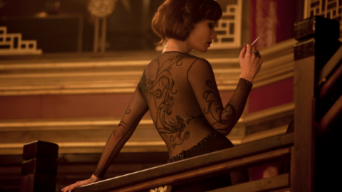 "Latest Bond Girl Sports a Dress With 60,000 Swarovski Crystals in ""Skyfall"" 