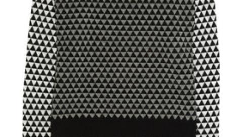 Want: A Bold, Geometric Knit Sweater | StyleCaster