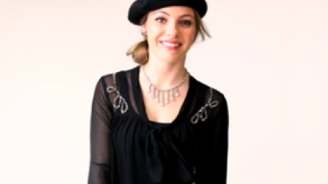 Perfect Holiday Looks In A Snap: The Retro Glam Blouse   StyleCaster