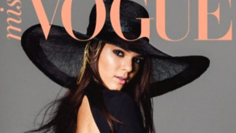 See Pics From Kendall Jenner's High-Style Miss Vogue Cover And Fashion Spread | StyleCaster