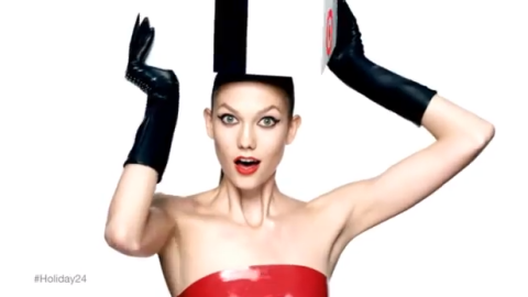 Watch Karlie Kloss Bounce Around To Promote The Upcoming Target x Neiman Marcus Holiday Collection | StyleCaster