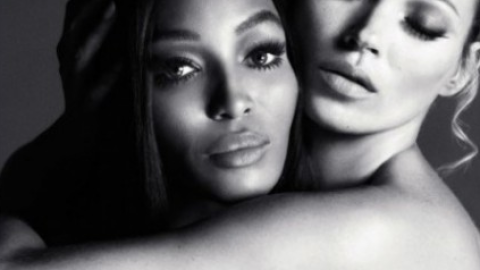 NSFW: Kate Moss and Naomi Campbell Show Some Skin for Interview Russia's December Issue | StyleCaster