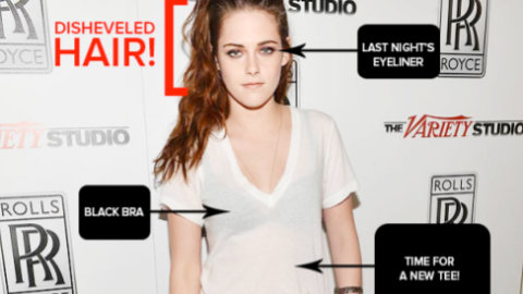 Dissecting The Outfit: Kristen Stewart's Messy-Tomboy Red Carpet Look | StyleCaster