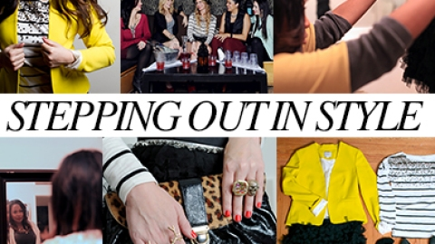 Stepping Out In Style: Tips From Our Favorite Bloggers And A Chance To Win A LOFT Shopping Spree | StyleCaster