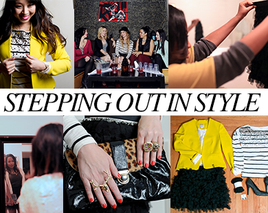 Stepping Out In Style: Tips From Our Favorite Bloggers And A Chance To Win A LOFT Shopping Spree