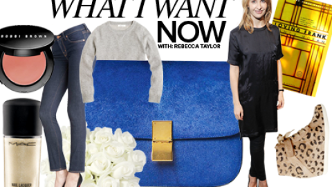 What I Want Now: Designer Rebecca Taylor on Her Fall Must-Haves, From Celine Bags to Roses | StyleCaster