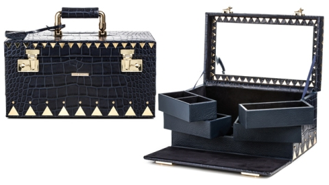 The Holiday A-List: Protect Your Jewelry in Crocodile | StyleCaster
