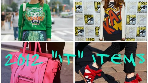 """Status Symbols: The """"It"""" Designer Items That Made A Splash in 2012 