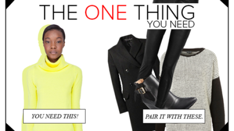 THE ONE THING YOU NEED: A Neon Sweater (PLUS 4 KEY Things To WEAR WITH IT) | StyleCaster