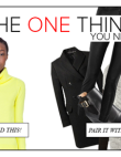 THE ONE THING YOU NEED: A Neon Sweater (PLUS 4 KEY Things To WEAR WITH IT)