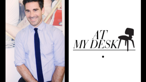 """At My Desk: Details' Fashion Director Depends on an """"Old School"""" Rolodex   StyleCaster"""