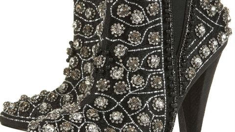 Want: An Eye-Catching Pair Of Embellished Ankle Boots | StyleCaster